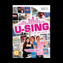 U-Sing U've Got Talent! Wii (SP)
