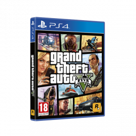 Grand Theft Auto V PS4 (SP)