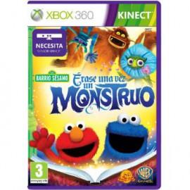 Kinect Barrio Sesamo Erase una Vez un Monstruo Xbox360 (SP)