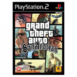 GTA San Andreas PS2 (SP)