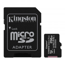 Memoria Kingston Canvas SDCS2 MicroSDXC + Adp. SD 256GB