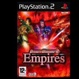 Dynasty Warriors 4 Empires PS2 (SP)