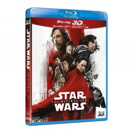Star Wars Los Ultimos Jedi 2D + 3D BluRay (SP)