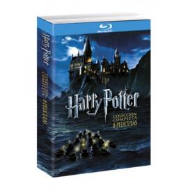 Pack Harry Potter La Coleccion Completa BluRay (SP)