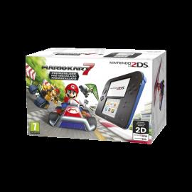 Nintendo 2DS Azul/Negro + Mario Kart 7