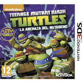 Teenage Mutant Ninja Turtles La Amenaza del Mutageno 3DS (SP)