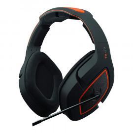 Headset Gioteck TX-50 Negro Naranja Multiplataforma