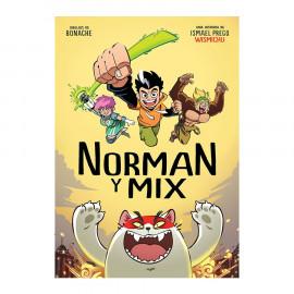 Comic Norman y Mix Wismichu Montena