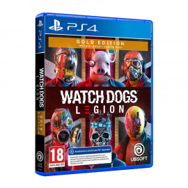 Watch Dogs Legion Gold Edition PS4 (SP)