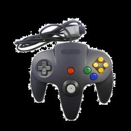 Mando Nintendo 64 Negro F&G