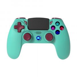 Mando Inalambrico Azul Turquesa F&G PS4
