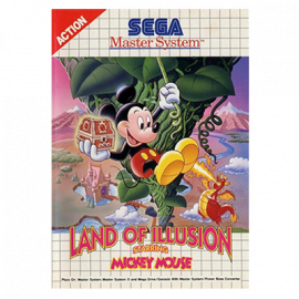 Land Of illusion: Starring Mickey Mouse Sega MS A