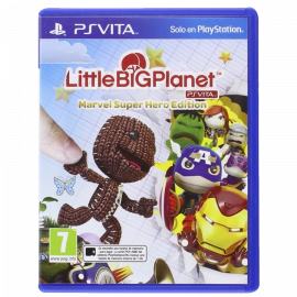 Little Big Planet Marvel Super Hero Edition PSV (SP)