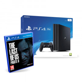 PS4 Pro 1TB Negra + The Last of Us: Parte II