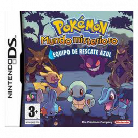 Pokemon Mundo Misterioso Equipo de Rescate Azul DS (SP)