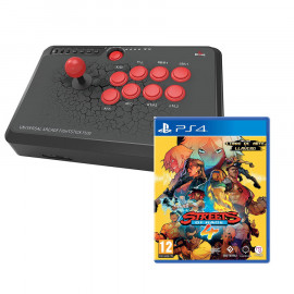 Pack: USB Fighting Stick F500 Mayflash + Streets of Rage 4 PS4