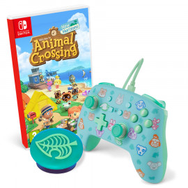 Pack: Juego Animal Crossing + Mando Power A + Popsocket Switch