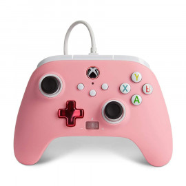 Mando Con Cable Power A Rosa Xbox One/Series/PC