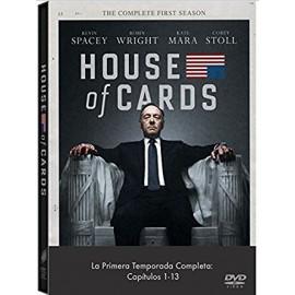 House of Cards Temporada 1 (13 Cap) DVD
