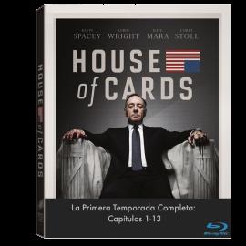 House of Cards Temporada 1 (13 Cap) BluRay (SP)