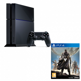Pack: PS4 500 GB + DualShock 4 + Destiny