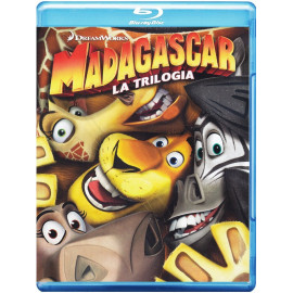 Madagascar La Triologia BluRay (SP)