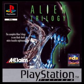Alien Trilogy Platinum PSX (SP)