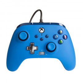 Mando con Cable Mejorado Power A Bold Blue Xbox Series X/One y PC