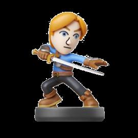 Figura Amiibo Mii Sword Fighter Super Smash Bros