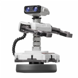 Figura Amiibo R.O.B Coleccion Super Smash Bros