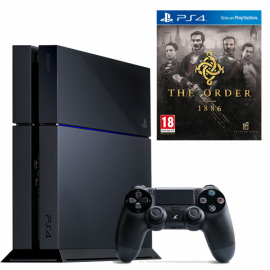Pack: PS4 500 GB + Dual Shock 4 + The Order 1886