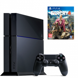 Pack: PS4 500 GB + Dual Shock 4 + Far Cry 4