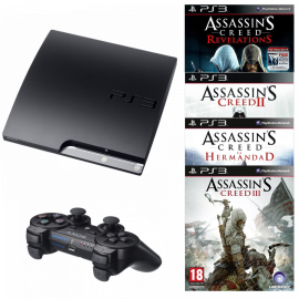 Pack: PS3 Slim 120 GB Assassin's Creed