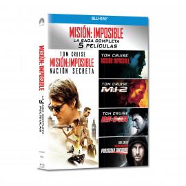 Mision Imposible la Saga Completa 5 BluRay (SP)
