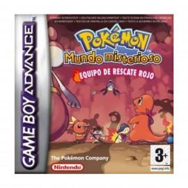 Pokemon Mundo Misterioso Equipo de Rescate Rojo GBA A