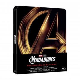 Los Vengadores La Trilogia SteelBook BluRay (SP)