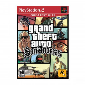 GTA San Andreas Greatest Hits PS2 (USA)