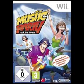Music Party Rock de House Wii (SP)
