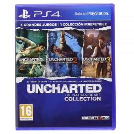 Uncharted: The Nathan Drake Collection PS4 (SP)