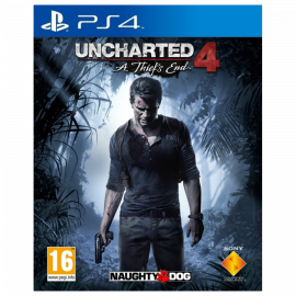 Uncharted 4: El Desenlace Del Ladrón PS4 (SP)