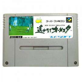 New 3D Golf Simulation NTSC JAP SNES