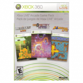 Live Arcade Game Pack Xbox360 (SP)