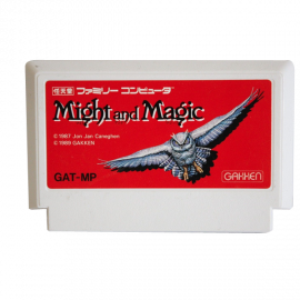 Might And Magic NTSC JAP NES