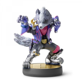 Figura Amiibo Super Smash Bros Wolf