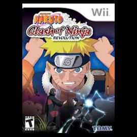 Naruto Clash of Ninja Revolution Wii (SP)