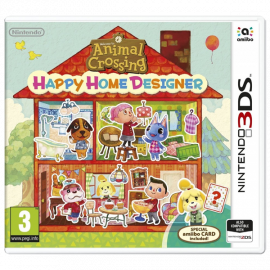 Animal Crossing: Happy Home Designer 3DS (SP)