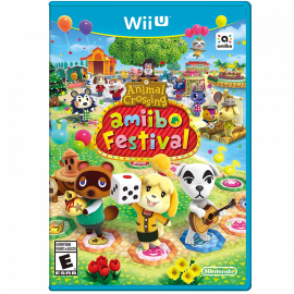 Animal Crossing Amiibo Festival WII U (UK)