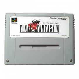 Final Fantasy VI NTSC JAP SNES
