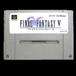 Final Fantasy V NTSC JAP SNES