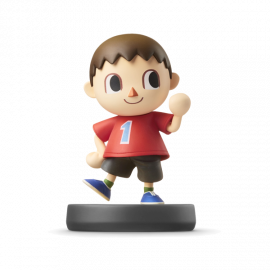 Figura Amiibo Villager Coleccion Super Smash Bros